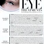 Eye Treatments - Harper's Bazaar November 2015 pg 248